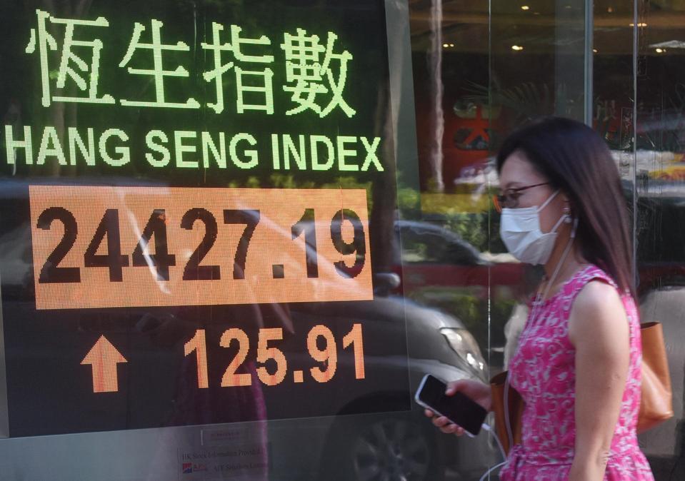 Hang Seng index on June 30.