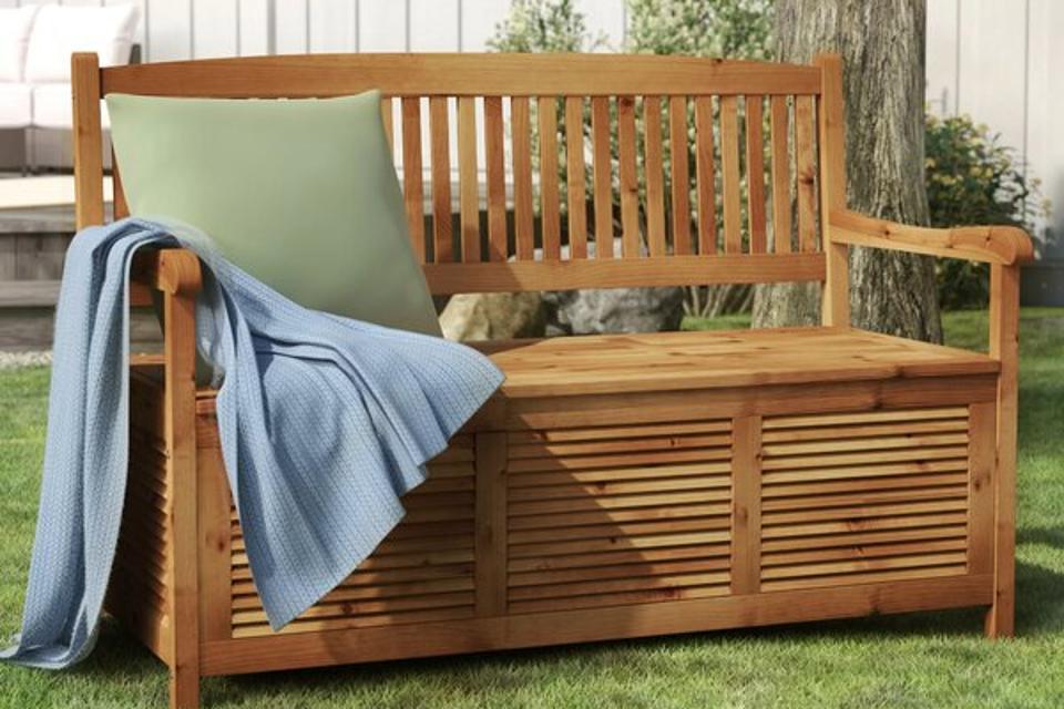 One Allium Way Brisbane Wooden Storage Bench