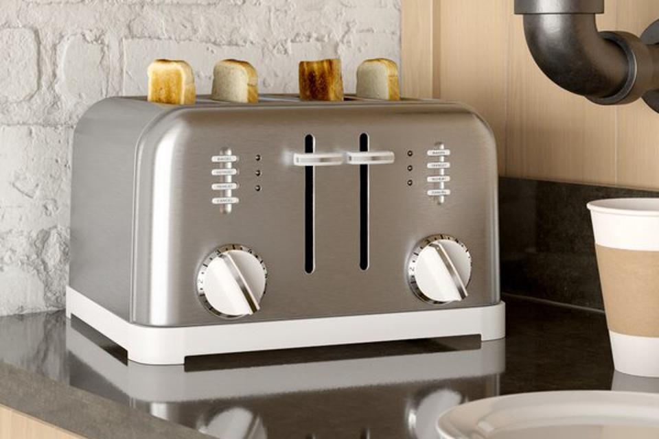 Cuisinart 4 Slice Metal Classic Toaster