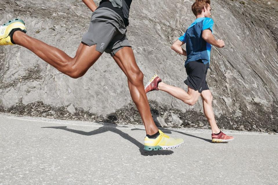 Running Shoes On Running