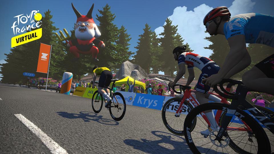 The Virtual Tour de France
