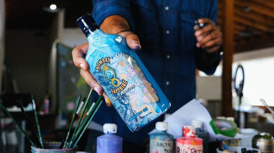 Hebru Brantley for Bombay Sapphire Gin