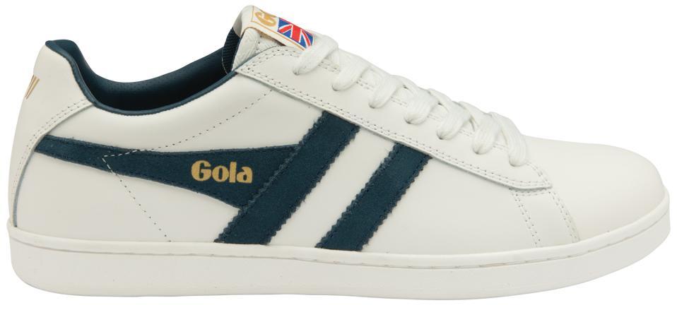 Gola Classics Men's Equipe Trainer in White/Vintage Blue