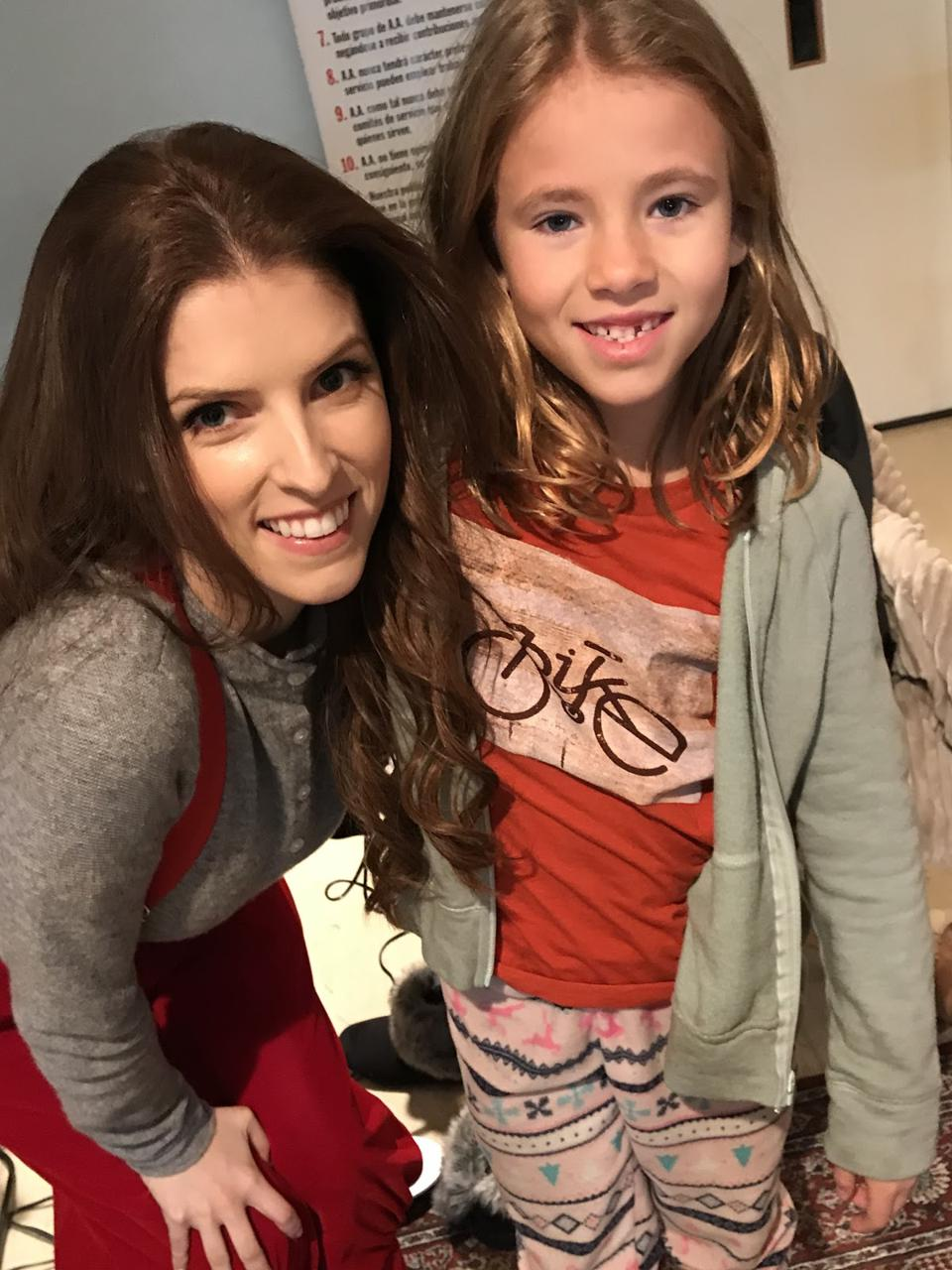 Shaylee Mansfield and actress, Anna Kendrick.