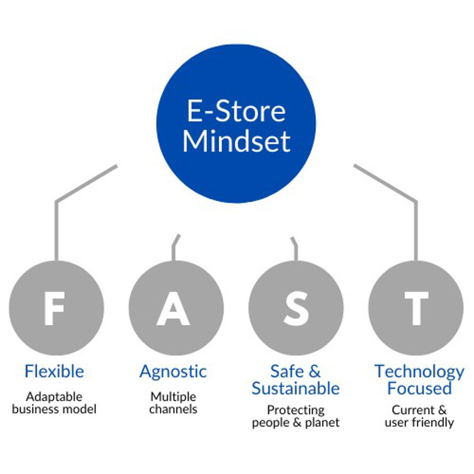Details on the E-Store Mindset and FAST acronym