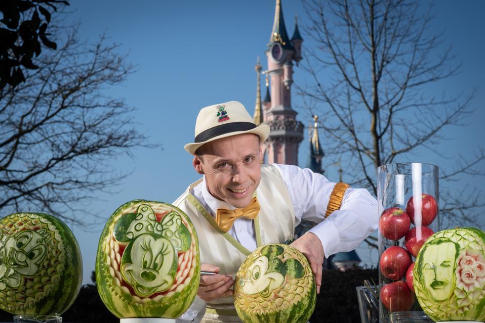 Cyril Soreau's elaborate creations enchant guests at Disneyland Paris