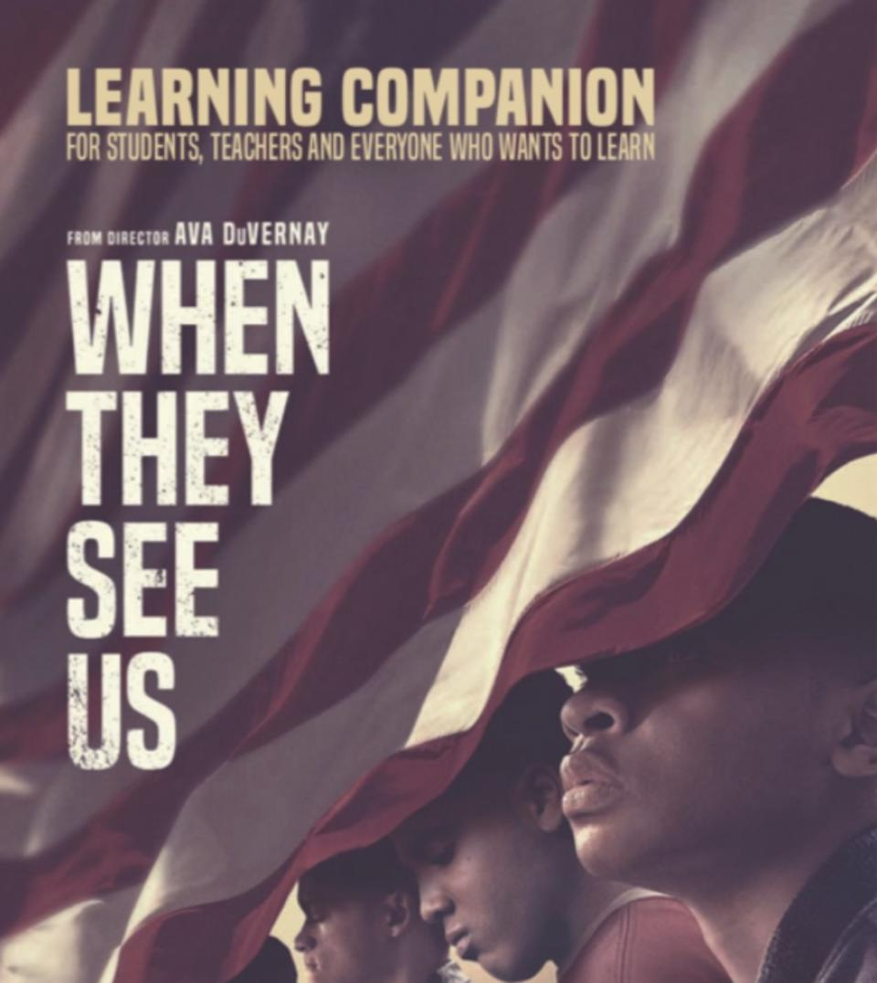An image for the ″When They See Us″ Learning Guide