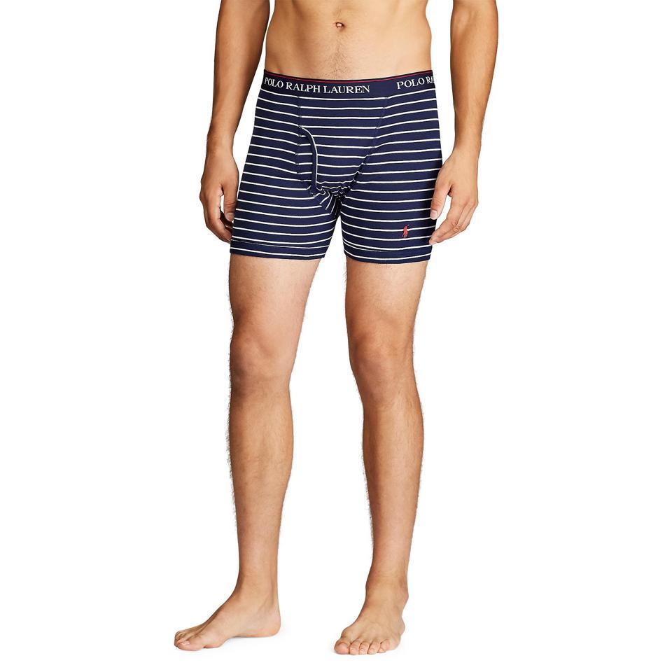 Ralph Lauren underwear: Wicking Boxer Brief 3-Pack
