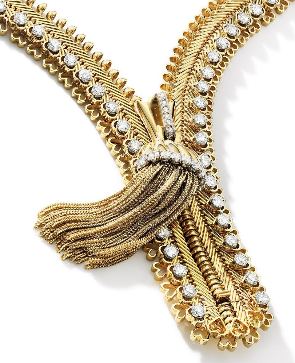 Van Cleef & Arpels Zip necklace that sold for $362,858