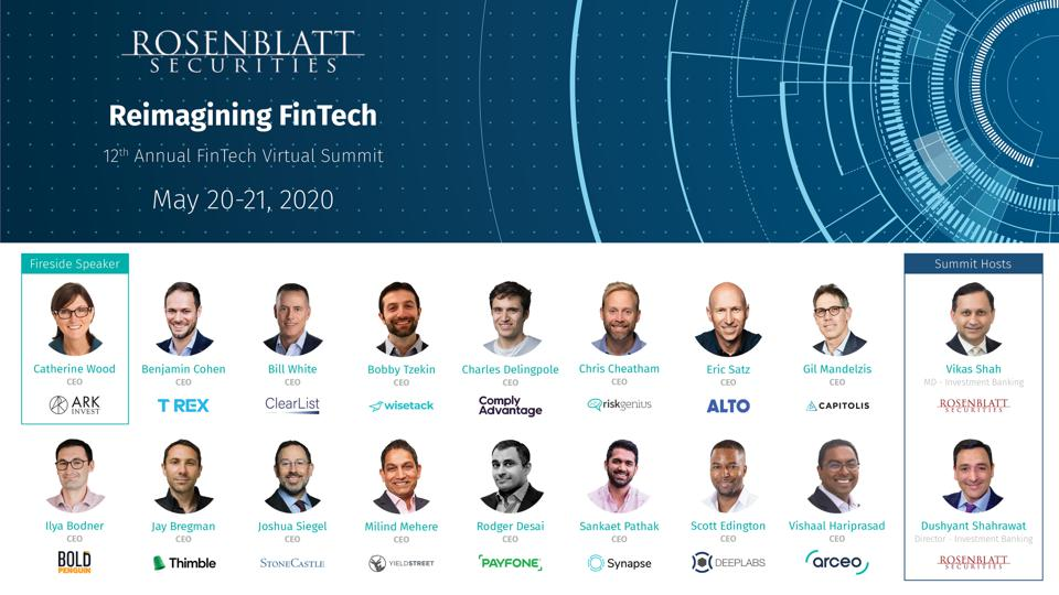 Leading FinTech entrepreneurs transforming the financial industry