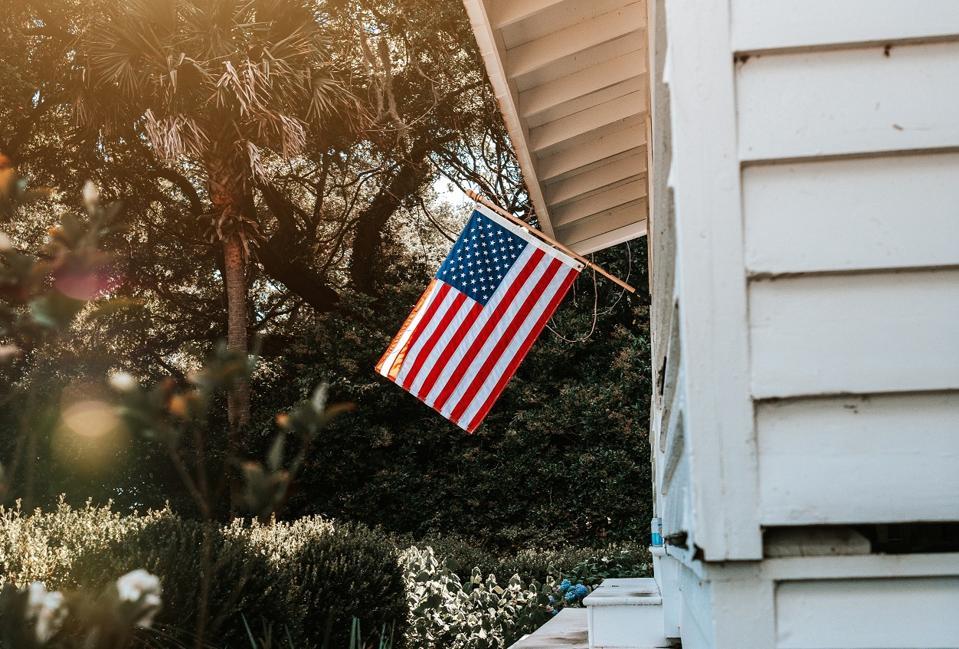 An Allegiance flag