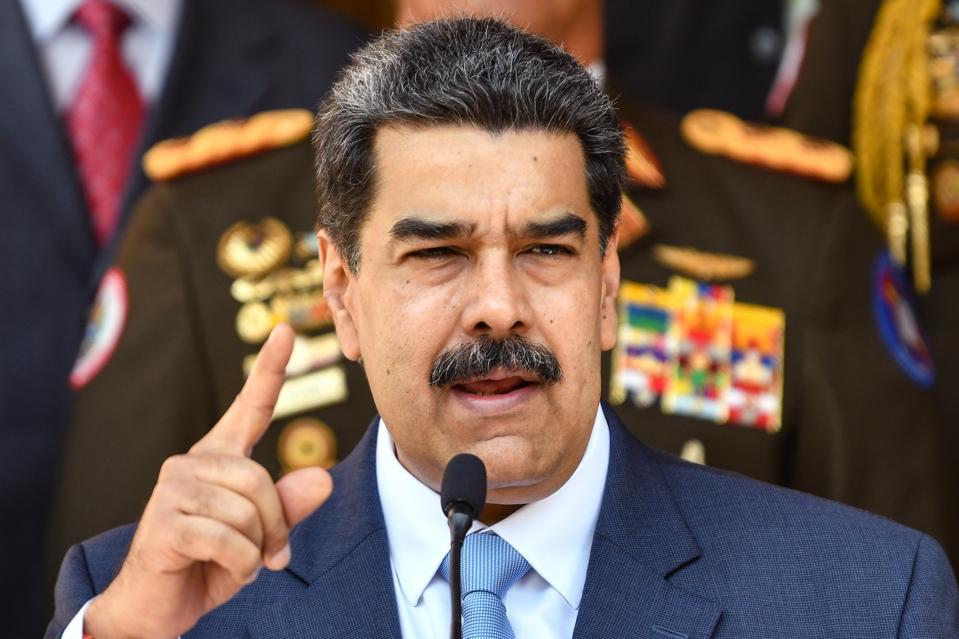 Nicolas Maduro Venezuela gold