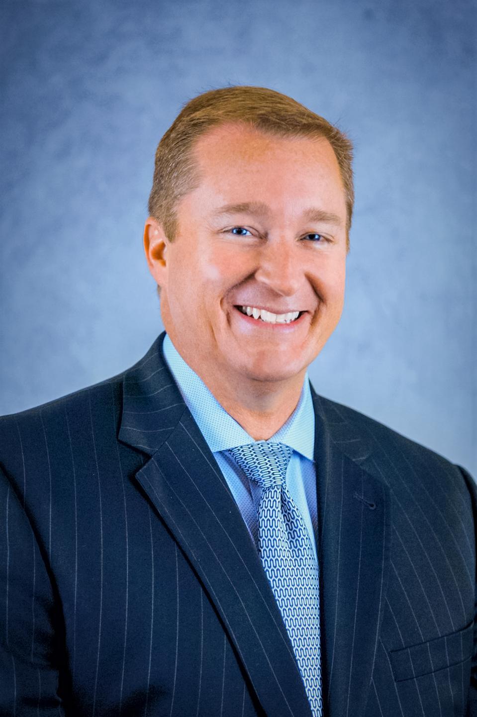 Headshot of Brian Cobb, the Chief Innovation Officer at Cincinnati/Northern Kentucky International Airport (CVG)