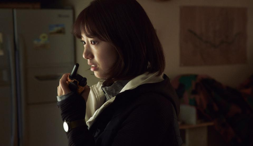 Park Shin-hye plays a woman terrified of leaving her apartment in '#Alive.'