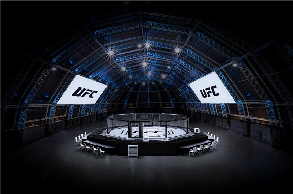 UFC is creating a Fight Island on Yas Island in Abu Dhabi