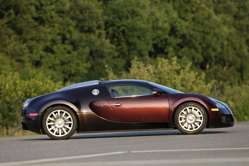 Kaban designed the fearsome, 407km/h (252mph) Bugatti Veryon EB16.4 in his twenties.