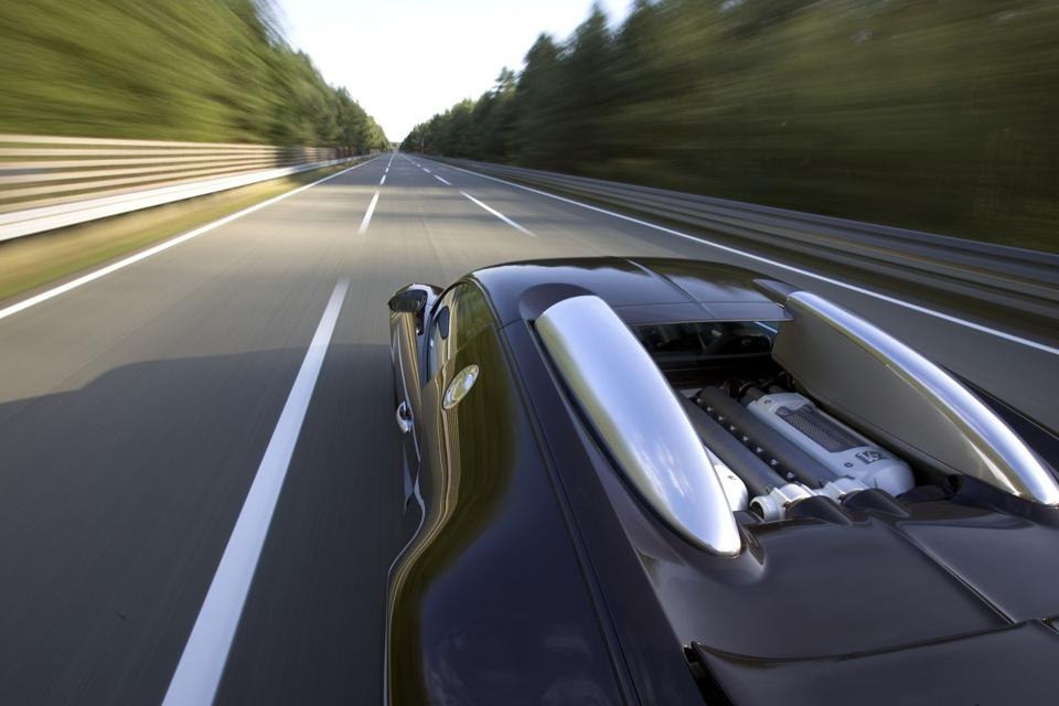 The Veyron's enormous top speed demanded new design techniques from Kaban.