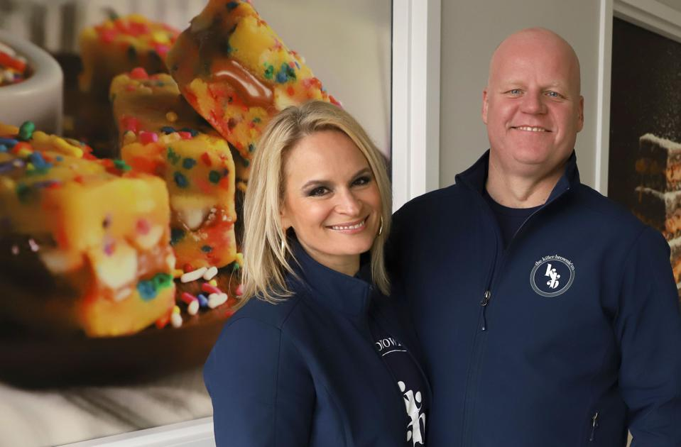 Joint photo: Chimene Ross, President and Chief Customer Officer and Matt Ross, VP of Operations, The Killer Brownie Company