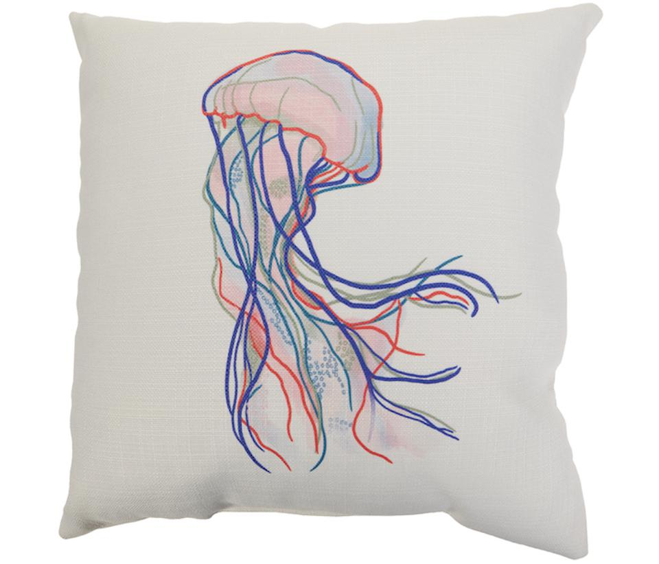 Sewing Down South HSN Jellyfish pillow