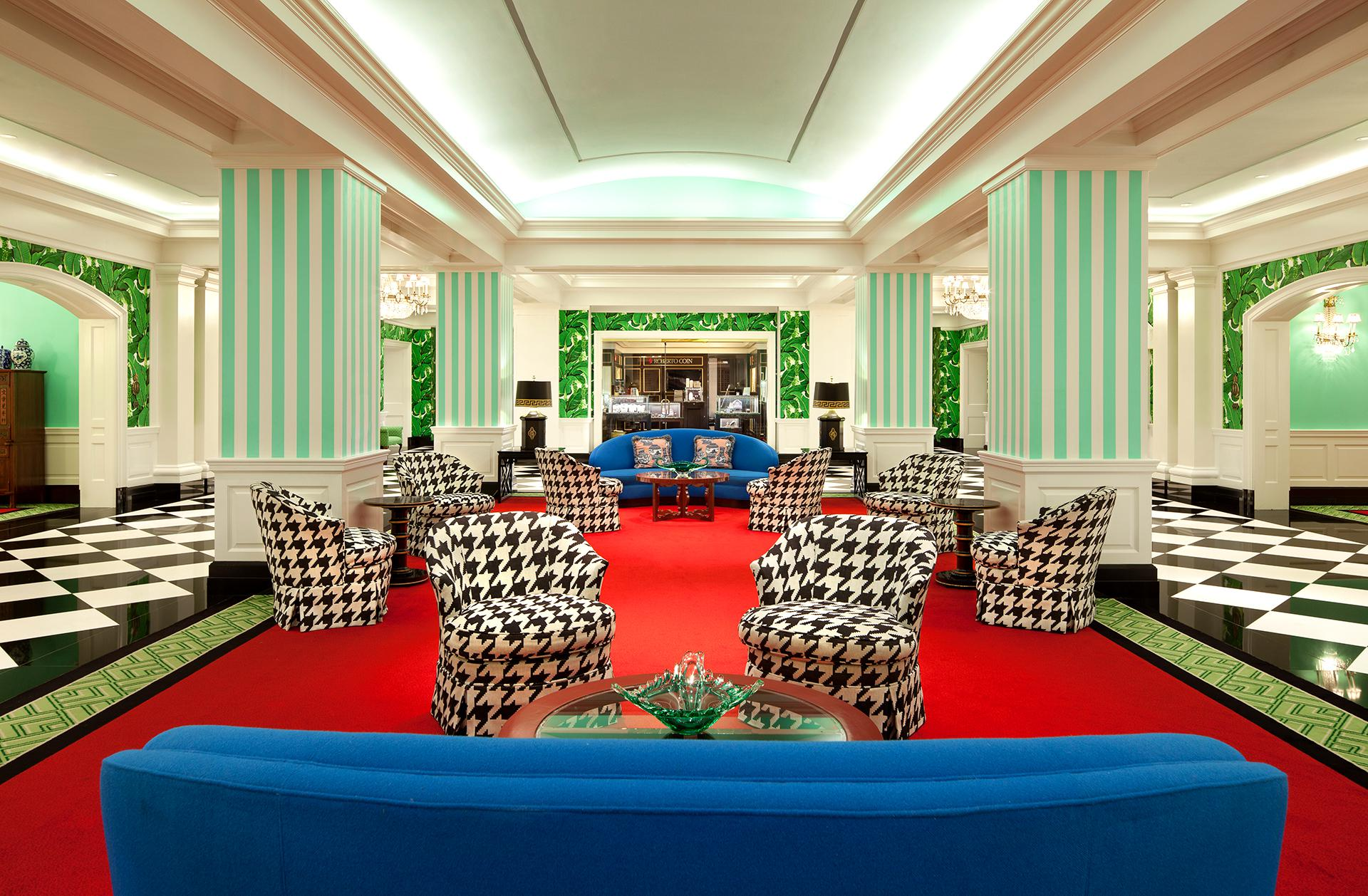 Hide and Chic: The Greenbrier's décor may be stylish but don't miss the secret bunker.