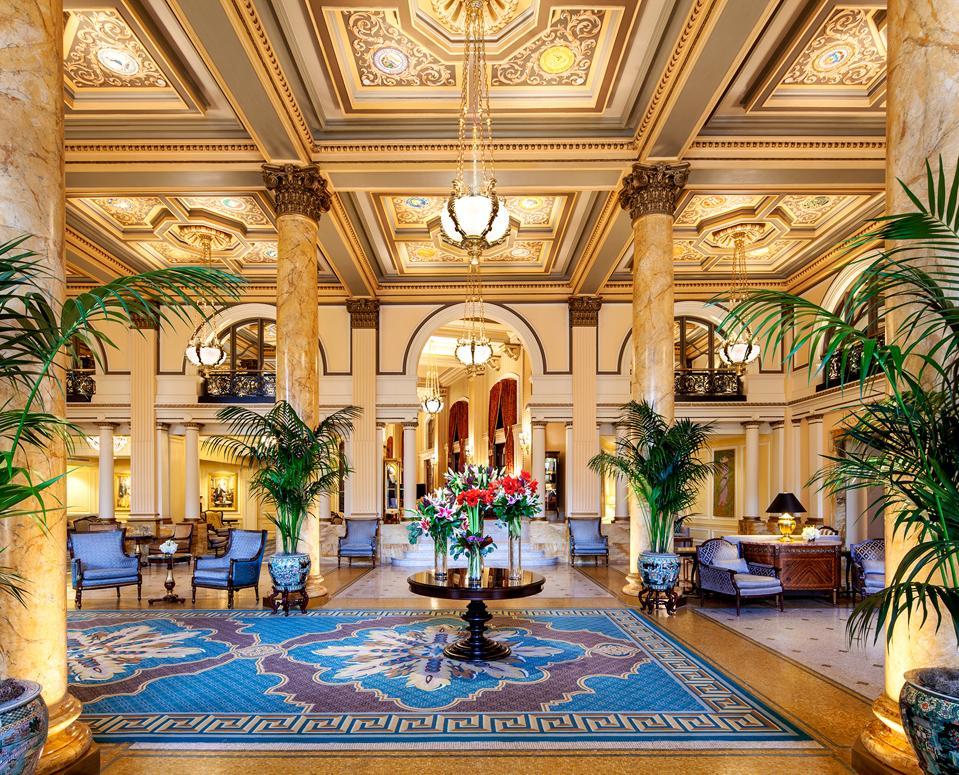Talk the Talk: Political lobbying began at the Willard—in its majestic lobby.