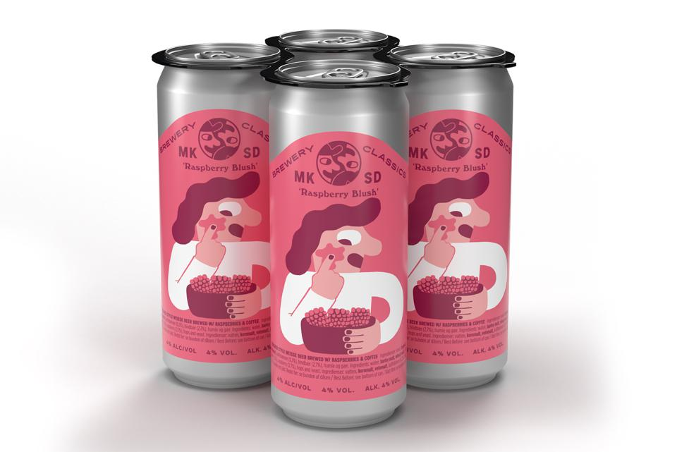 Raspberry Blush from Mikkeller Brewing