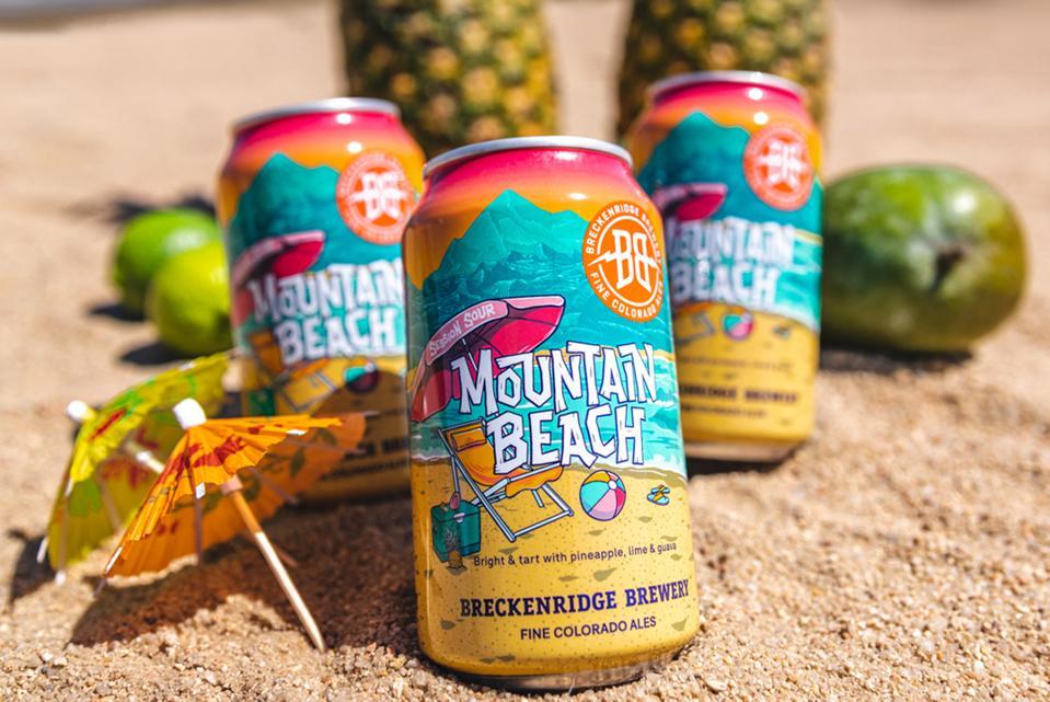 Mountain Beach from Breckenridge Brewery