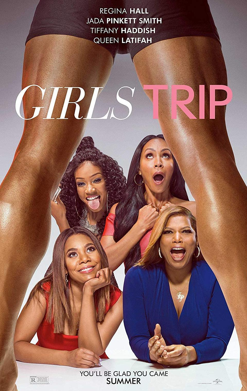 Official poster for ″Girls Trip″