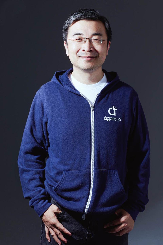Agora CEO Tony Zhao.