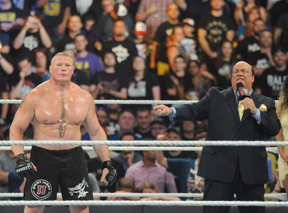 Brock Lesnar and John Cena Appear At WWE SummerSlam 2016