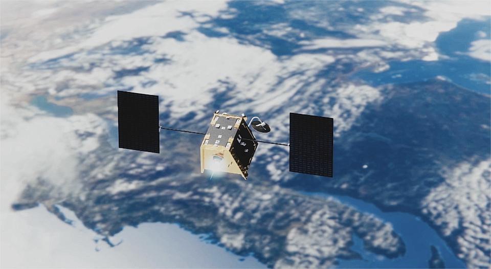 OneWeb satellites in orbit