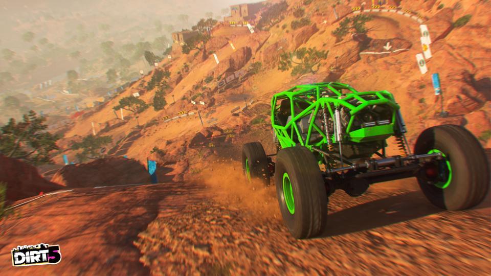 DIRT 5 screenshot from Codemasters