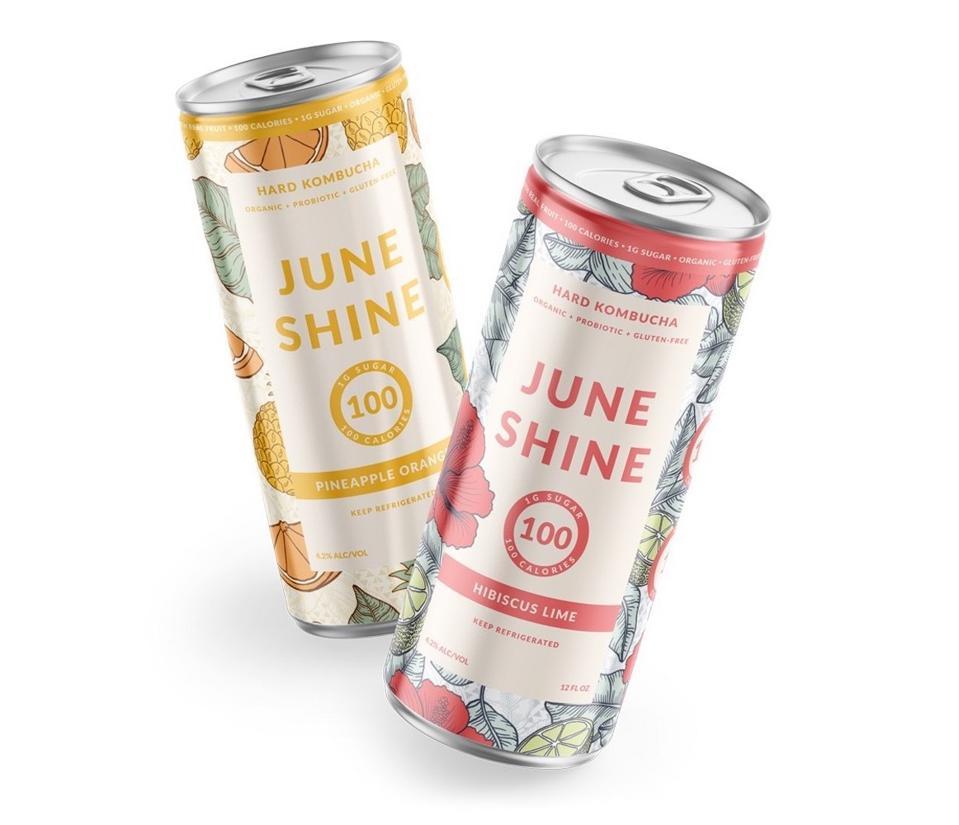 JuneShine 100 Hard spiked kombucha