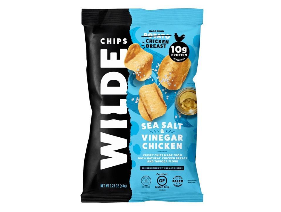 Wilde Chips chicken breast protein low fat keto snacks potato
