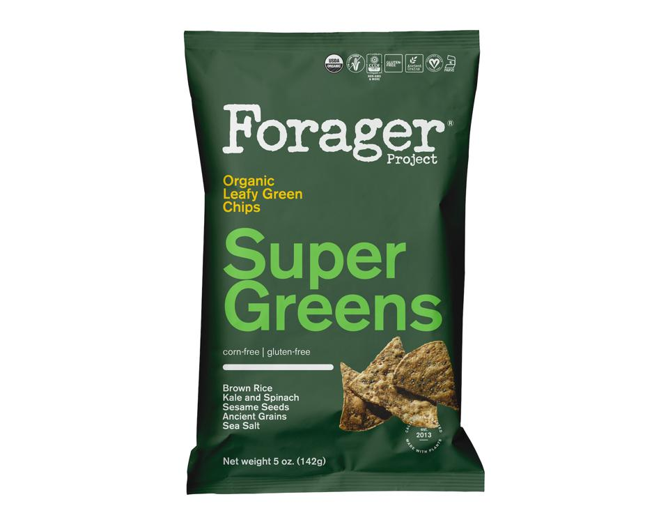 Forager Project Veggie Chips organic leafy green super grens