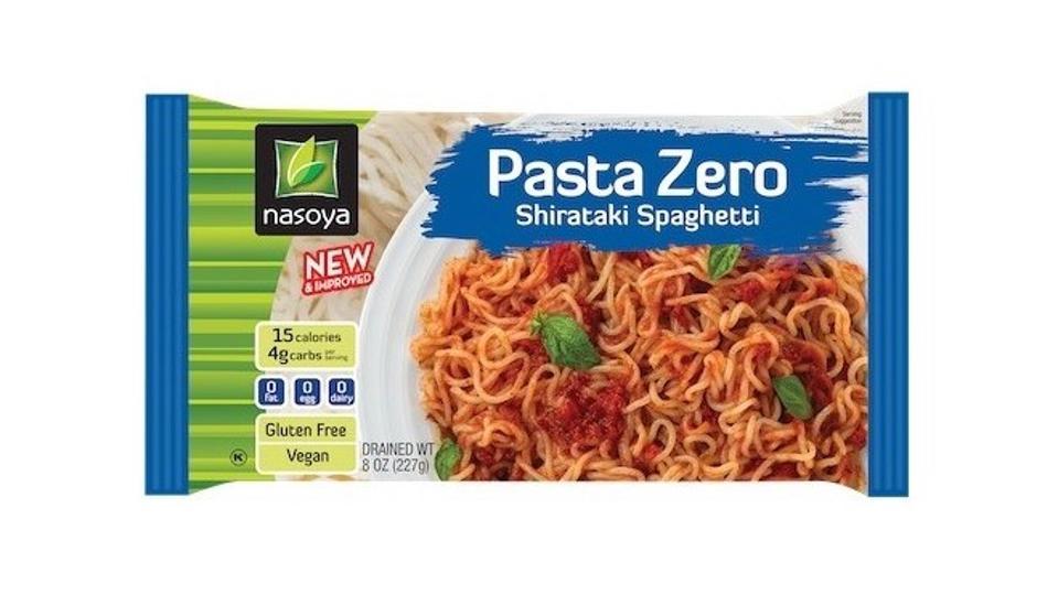 Nasoya Pasta Zero Spaghetti shirataki keto low carb gluten free low calorie naoodle past