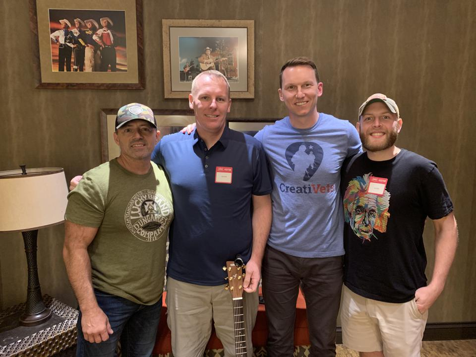 Since 2013, CreatiVets has connected veterans with ace songwriters to pen over 100 songs.