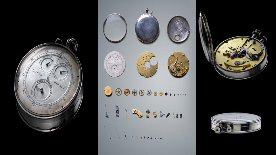 Louis Moinet invented the first chronograph in 1816