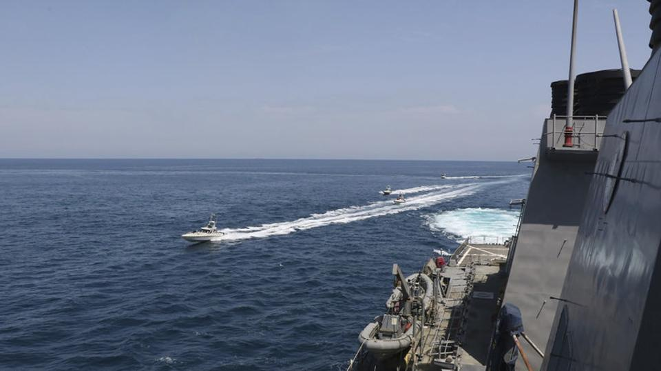Boat, IRGC, US Navy, Persian Gulf, Iran