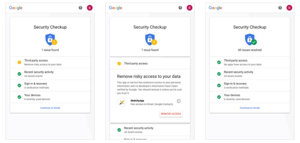 Google password checkup is a good tool. Use it.