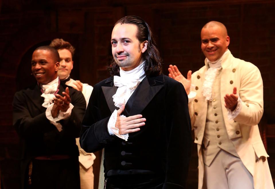 Lin-Manuel Miranda Makes Final Performance On Broadway's ″Hamilton″