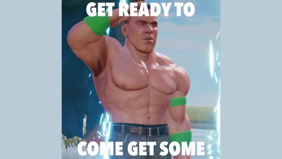 John Cena in WWE 2K Battlegrounds