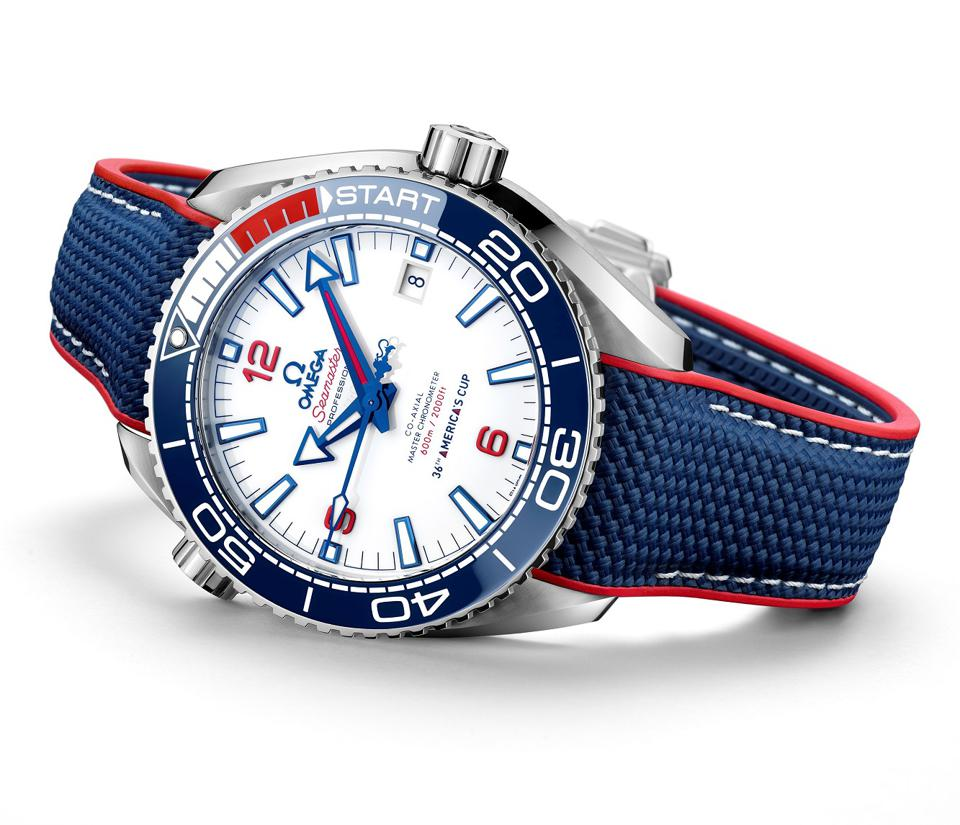 The Omega Seamaster Planet Ocean 36th America's Cup Limited Edition