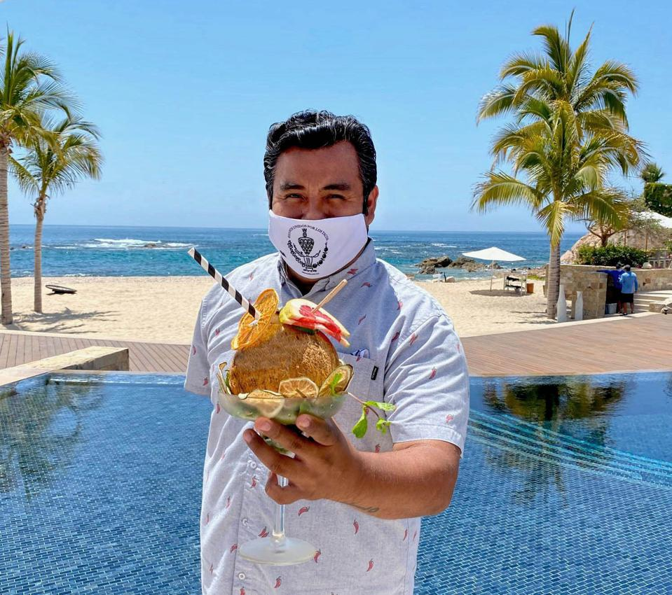 Osvaldo Vazquez - Beverages Manager at Chileno Bay Resort & Residences