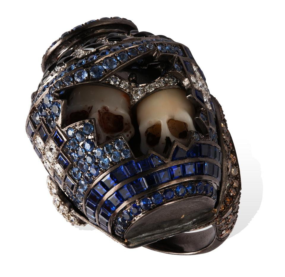 The Memento Mori Ring by Lydia Courteille