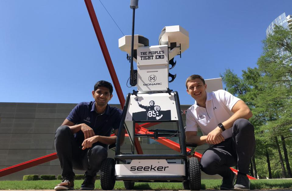 San Francisco 49ers tight end George Kittle owns The Seeker in the picture.