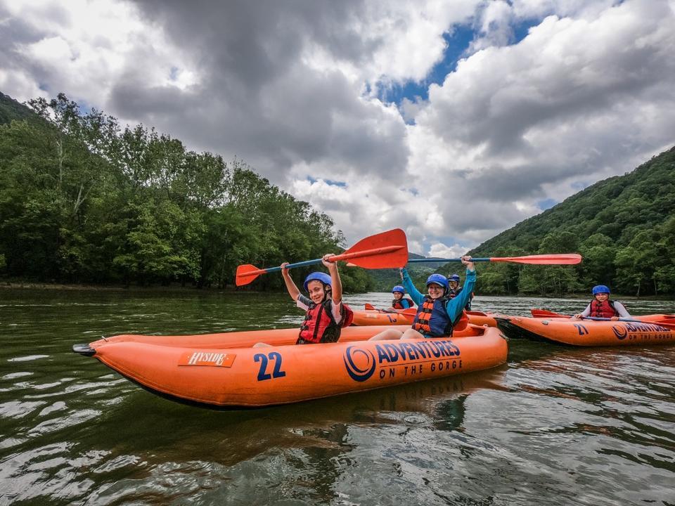 Upper New River full-day rafting trip