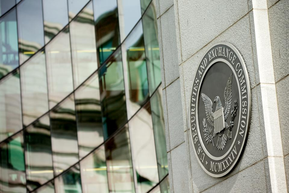 A picture of an SEC federal building