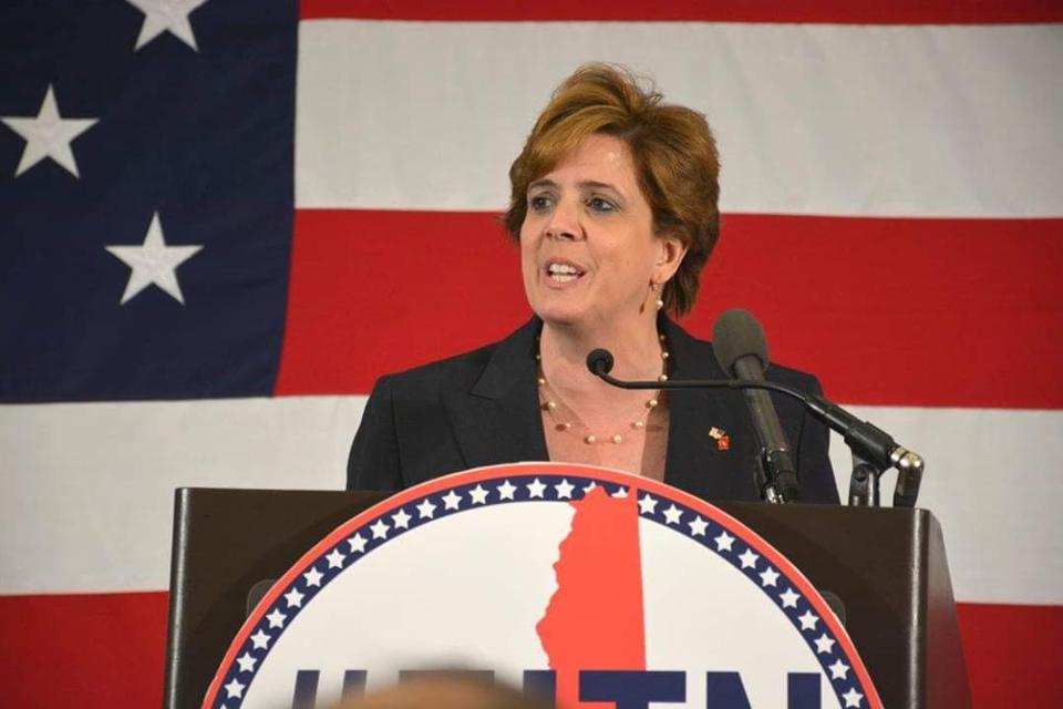 Jennifer Horn, former chair of the New Hampshire Republican party, helped co-found The Lincoln Project.