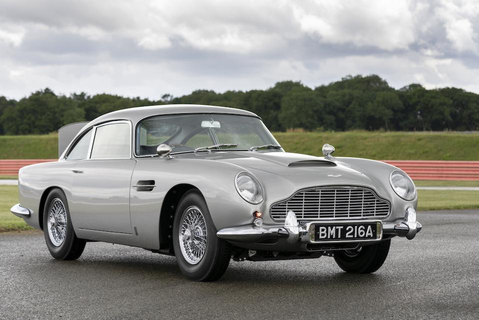 Famous movie car 1965 Aston Martin DB5